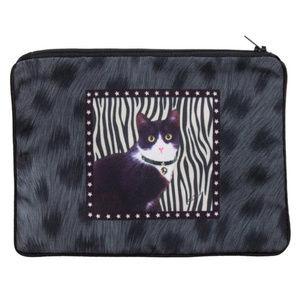 Handbags - Tuxedo Cat Cosmetic Pouch